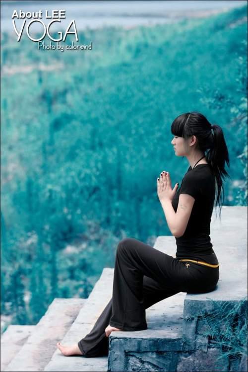 瑜珈 大自然 少女 ★的日志