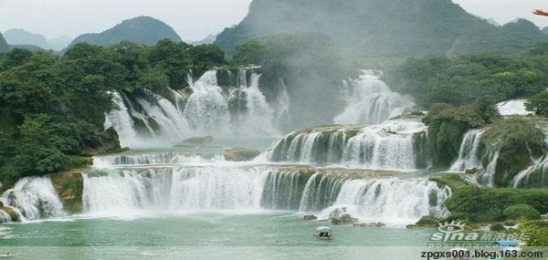 【动态山水风景图片】  - 桥流蓝水