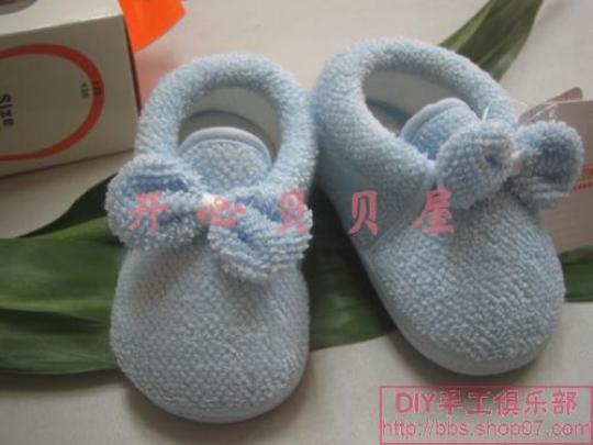 宝宝棉鞋 - 小敏 - 我爱子彦