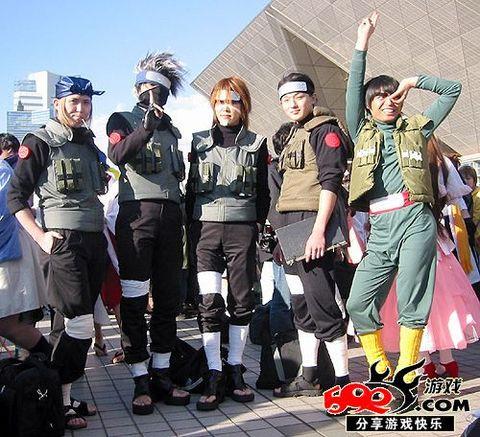 火影cosplay 较齐全 高清图片