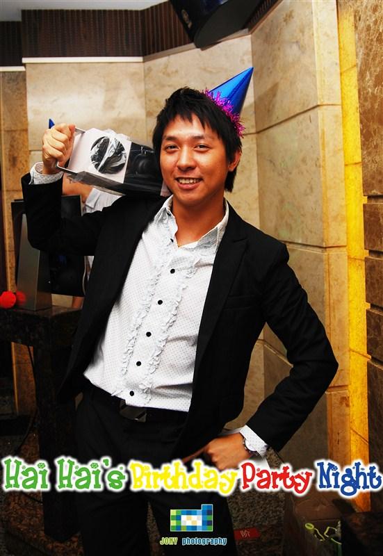 haihais birthday party night - Mr.JONY -