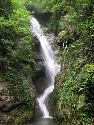 风香岭瀑布(新昌的瀑布之十) - 江村一老头 - 江村一老头的茅草屋