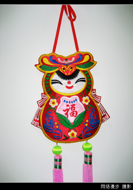 【漫步摄影】洽川玉绣工艺品公司绣品木偶展品 - 网络漫步 - 捕风捉影