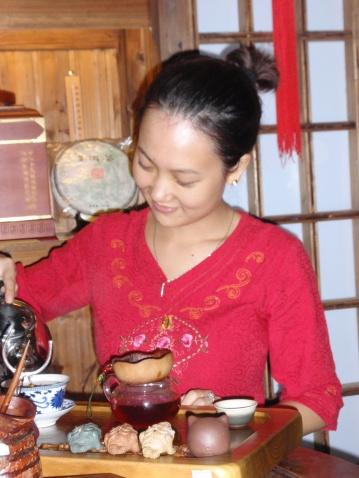 己丑正月十三武汉东湖畔酒后饮茶作赠数博士  - 老軒 - 孟軒,田華的空間