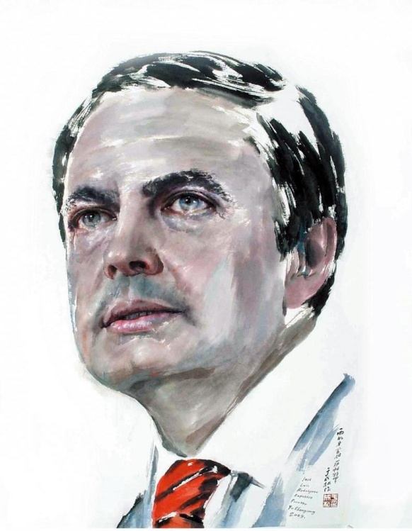 欣赏一组特殊的人物肖像画---于成松的23幅峰会首脑肖像作品 - 心无锁的日志 - 网易博客 - 心无锁的博客