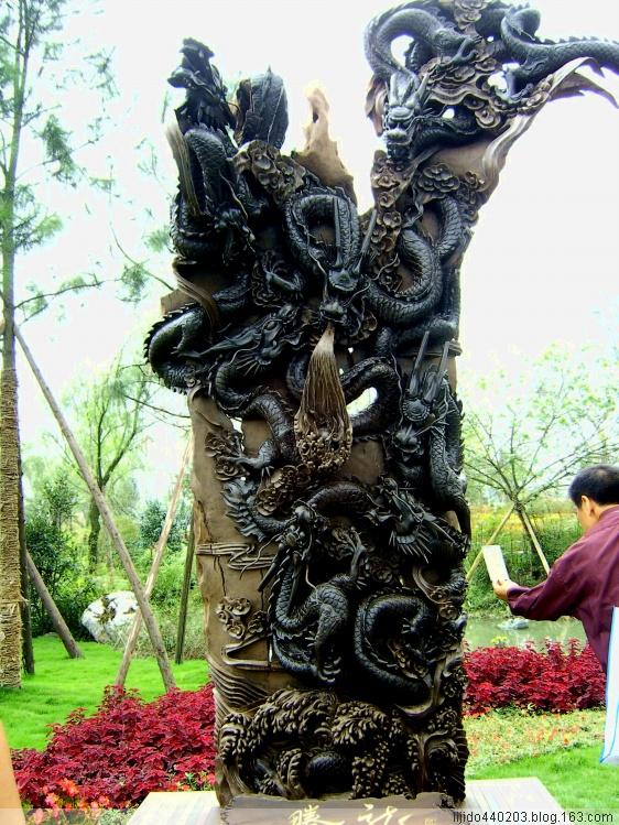 引用 [原创摄影]--乌木雕塑 - 时佼 - 翰渊时佼