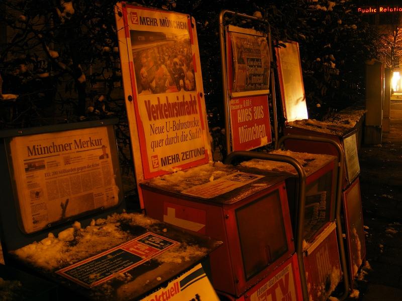 进城记:慕尼黑 - .貓 - 某貓的舊電視鋪子。