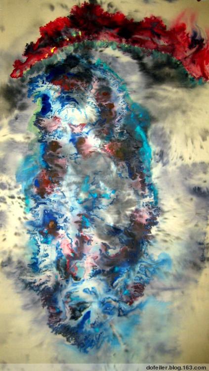 批判朱雨泽动感水墨 《微茫与纯粹》 - 蕊 - 蕊-花之方寸 花之精灵
