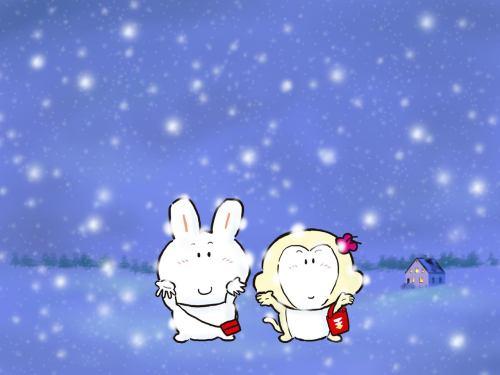 有梦就有希望……另:壁纸放送…… - 粥粥 - 胖兔子粥粥
