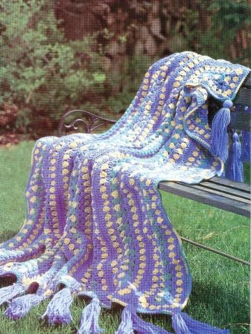 引用 毛线毯 - 雨荷 - 雨荷