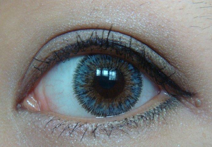 NARS 雙色眼影 Nouveau Monde 淡紫橄欖綠色真眼試妝 - 小住住 - 住住美妝瘦身分享 (網易版)