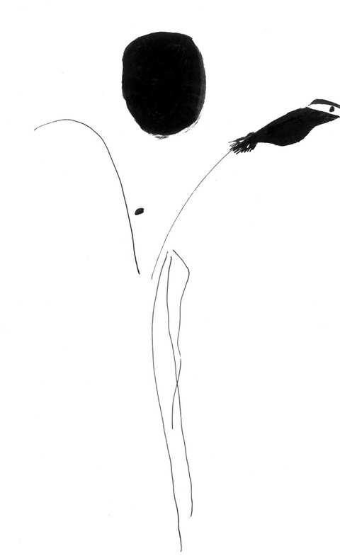 """海子为""""太阳""""诗作所绘插图2"""