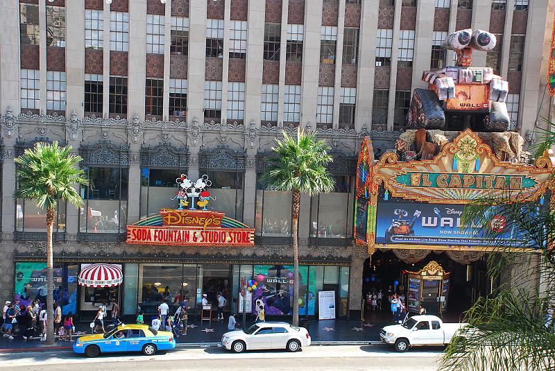 加州阳光(十七)___好莱坞星光大道 - 西樱 - 走马观景