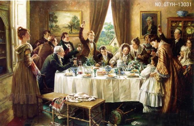 油画人物 照片名称:欧式宫廷油画