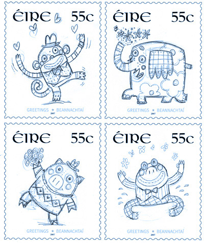 【插画+链结】illustrated stamps - 798 - 798