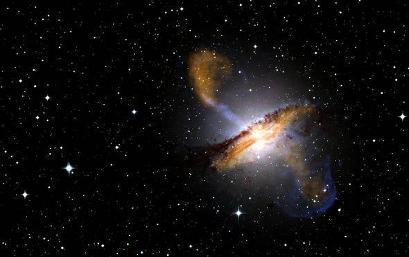 2009壮观天文照片:超大黑洞喷射各种物质 - 浪浪云 - 仰望星空