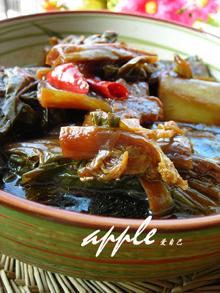 绝对会让你爱上宁波的一道菜-----小黄鱼烧年糕 - 可可西里 - 可可西里