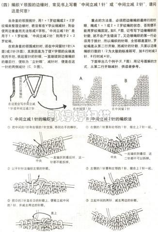 [棒针]巧手编织领和袖 - 听雨 - 听雨花园
