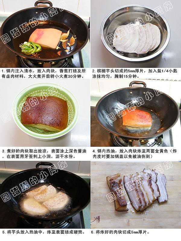 香芋扣肉 - 小芊芊 - 小芊芊