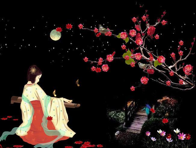 原创七律·咏梅 - 胡峰(国峰) - 剑指五洲,笔扫千军,气贯长虹,音绕乾坤