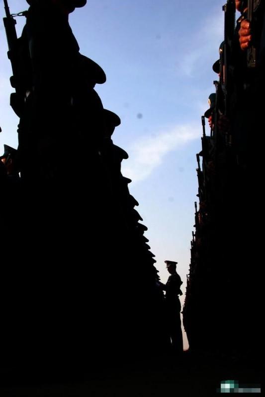 未曝光的阅兵训练照片 - 红杉树 - 红杉树