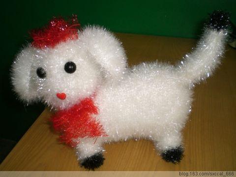 绒线编织——小狗狗 - 清歌 - 在水一方
