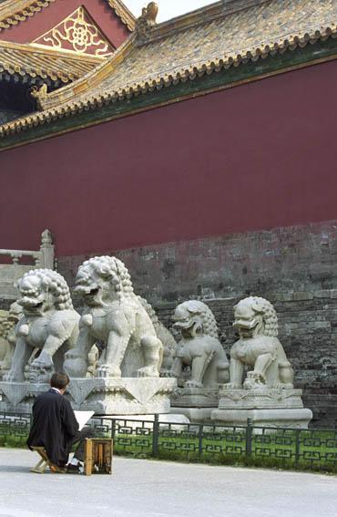 《中华遗产》的老朋友乔得龙:一个法国人画笔下的老北京 - 中华遗产 - 《中华遗产》