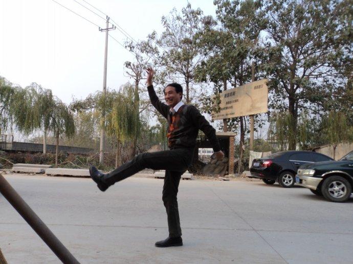 昌乐石雕刻非遗申报录像散记(2) - 千手刘郎 - 千手刘郎