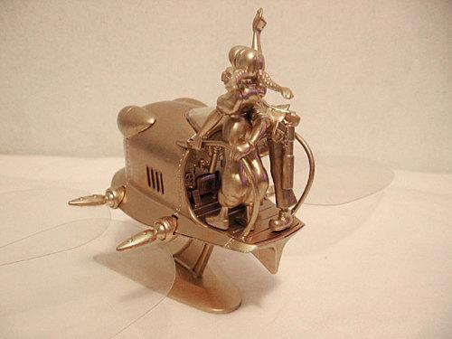宫崎骏作品《天空之城》拼装模型 - 恶魔果实 -