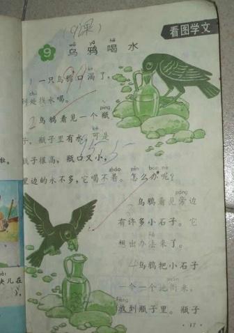 80后小学语文课本插图精选(三) - taian813 - taian813的博客