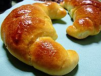 有些神似的牛角面包---烘焙新手交第10篇作业 - 可可西里 - 可可西里