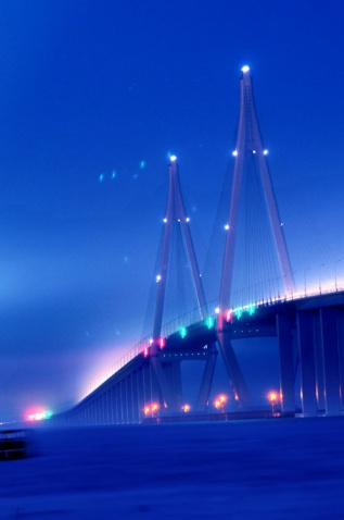 [组图] 看交通以无量智慧接引道人(2)杭州湾跨海大桥 - 路人@行者 - 路人@行者