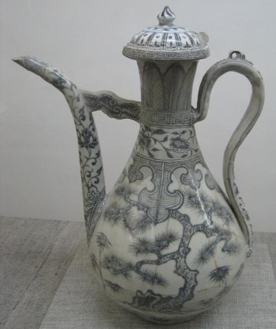 元和明早期青花瓷器上的晕散现象 - ym_chen1948 - ym_chen1948的博客