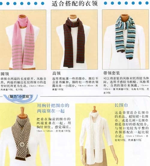 300种围巾系法 - 烟锁池塘柳的日志 - 网易博客