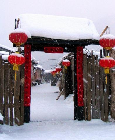 (原创)散文:在飘雪的日子里沉醉    --记忆的雪系列之三 - 听雨赏雪        大李  - 听雨赏雪的博客