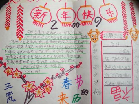 手抄报评选结果出来了 - scxx200706 - 快乐书香苑