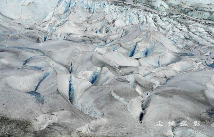 近距离接触阿拉斯加冰川 - Y哥。尘缘 - 心的漂泊