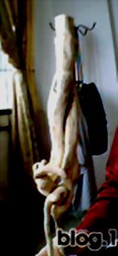 [原创]手工(8)我的小根雕——少女 - 可可 - 石头村可可