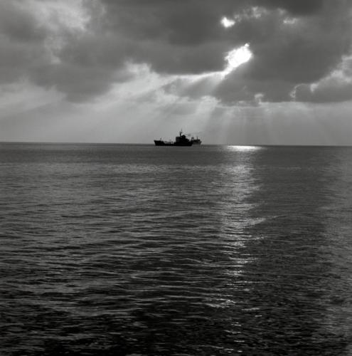 黑白照片——情系西沙 - 汉子 - 汉子的博客