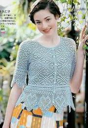 【引用】找出件漂亮的钩衣服,优雅曼妙,附图解 - 妙妙老妖 - zhp6677 的博客