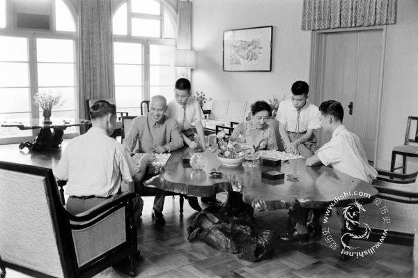 蒋介石晚年的天伦之乐 - 冰心 - luozhiping066的博客