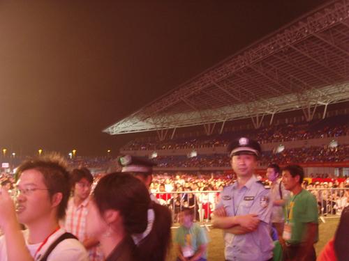 《梦想中国》演唱会的后台生活! - vip-shanye - 山野《说。》