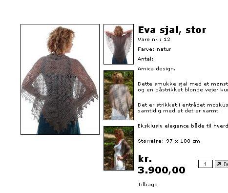 蕾丝披肩和牦牛绒 - Daphne - 爱编织Crochet Knitting