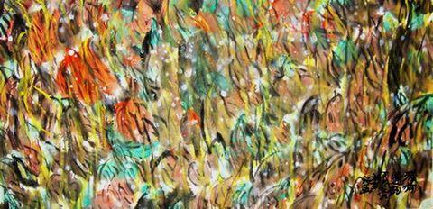 发一组徐柏生国画代表作品 - 美术博士徐柏生 - 徐柏生