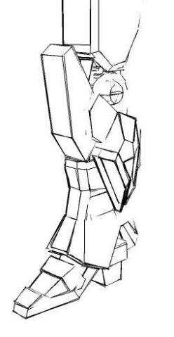 草图一张 - bataf - 纸制变形金刚作坊