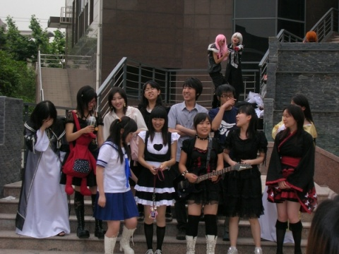 [雜事] 2008/6/1 上師大同人展 情況 - 小雪 - 輕小說部落格