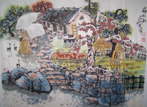 乡村记忆系列(十七)2008/01/05 - 书画家罗伟 - 书画家罗伟的博客
