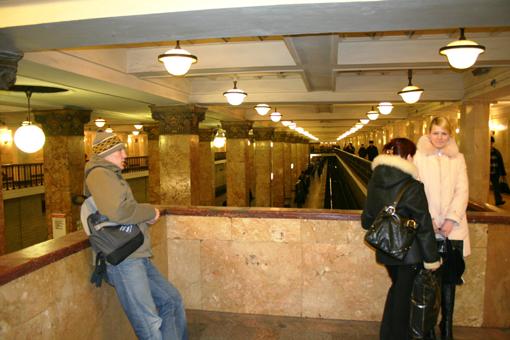 苏联的遗产—莫斯科地铁 俄罗斯之旅 五 - 蔡上尉 - 蔡伟的博客