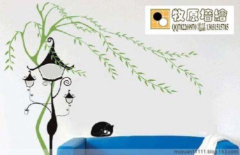 牧原墙绘(床头绘饰) - 牧原(笔名) - 牧原造型藝術美術研究所  釀名坊