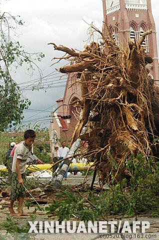 强热带风暴袭击后的缅甸仰光(三) - 纽约缅甸华侨联谊会 - 纽约缅甸华侨联谊会